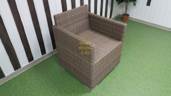 Infinity кресло плетеное