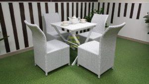 Фото-Комплект плетеной мебели Arizona 4 white