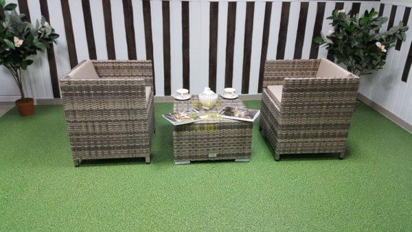 Фото-Комплект плетеной мебели Barbados cafe 2 set