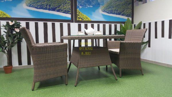 Фото-Комплект плетеной мебели Samurai beige 2