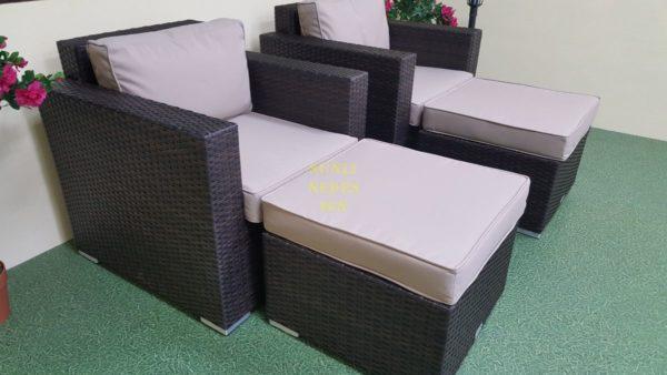 Фото-Мебель из искусственного ротанга Acoustic relax