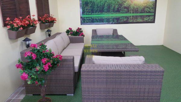 Фото-Мебель из ротанга Glendon dining