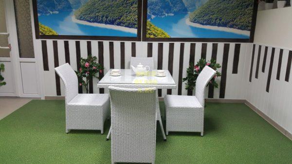Фото-Мебель из ротанга Rose 4 white