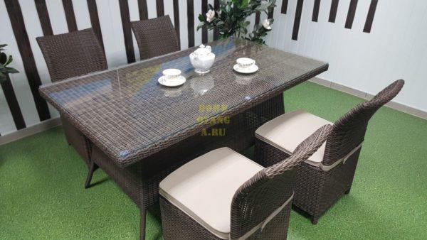 Фото-Мебель из ротанга Rose royal brown 4