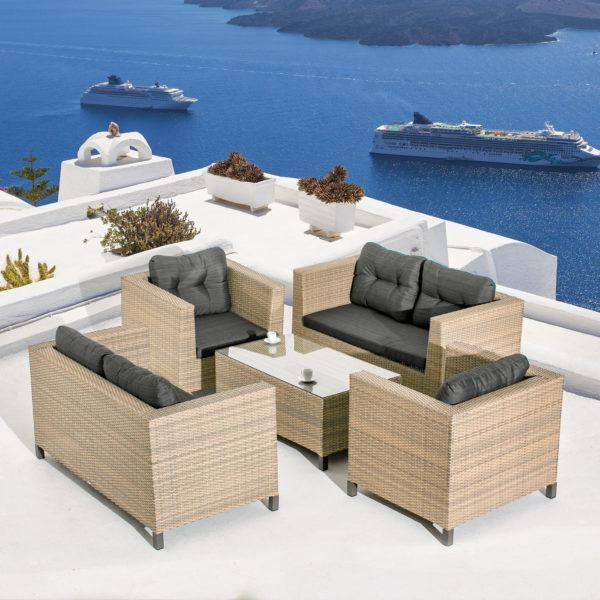 """Фото-Плетеная мебель """"Cubo Seis Lounge"""" Mi Casa"""