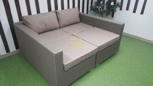 Фото-Плетеная мебель лежак-кровать Louisiana mocco