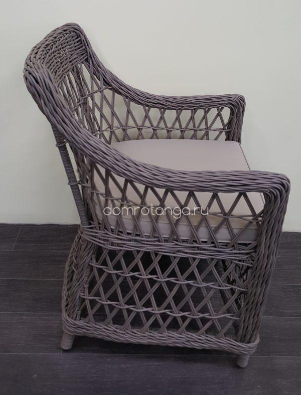 Садовое кресло из искусственного ротанга «Beatrix» beige.