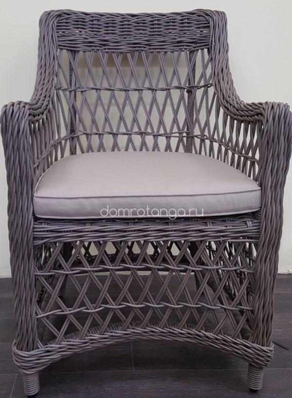 Обеденное кресло из искусственного ротанга «Beatrix» beige.