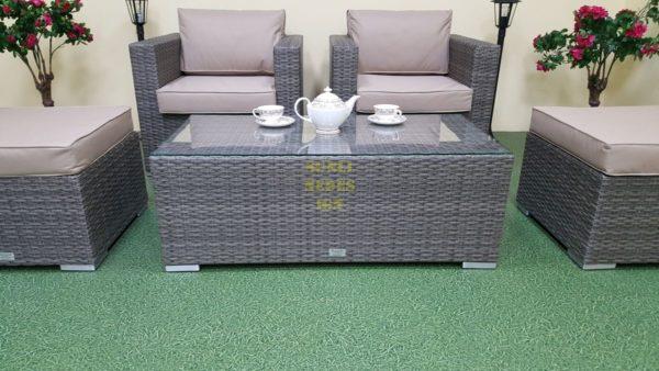 Фото- Садовая мебель Allegro natur&beige balcony set