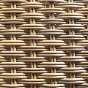 Фото-Искусственный ротанг 2 Round Royal Beige производство плетеной мебели