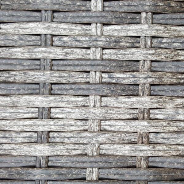 Фото=производство плетеной мебели Искусственный ротанг 2 Round Royal brown grey
