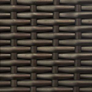 Искусственный ротанг Flat Metal Bronze производство мебели из ротанга