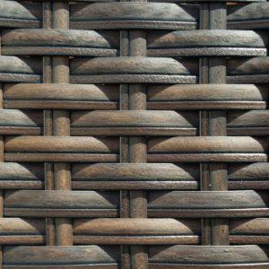Фото - производство плетеной мебели Искусственный ротанг Flate Royal Brown+Chocolate