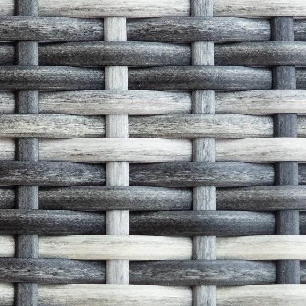 Искусственный ротанг Flat Teak grey / Производство плетеной мебели