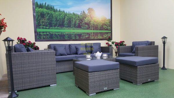 Фото-Комплект плетеной мебели Allegro natur&grey set 1