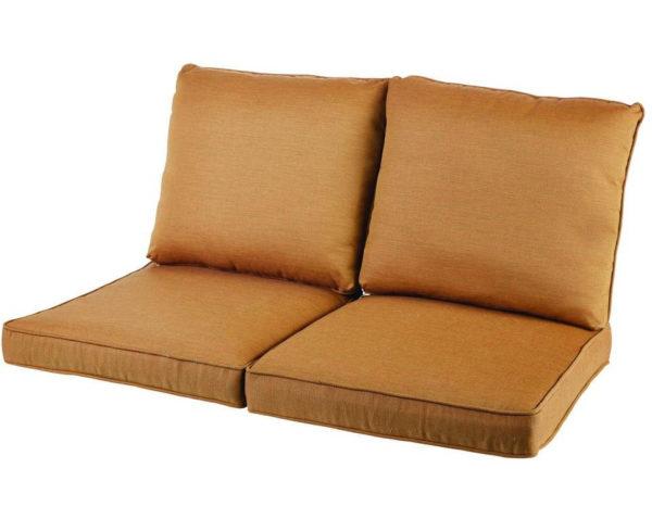 Фото-Комплект подушек на садовый диван 2-х местный пошив