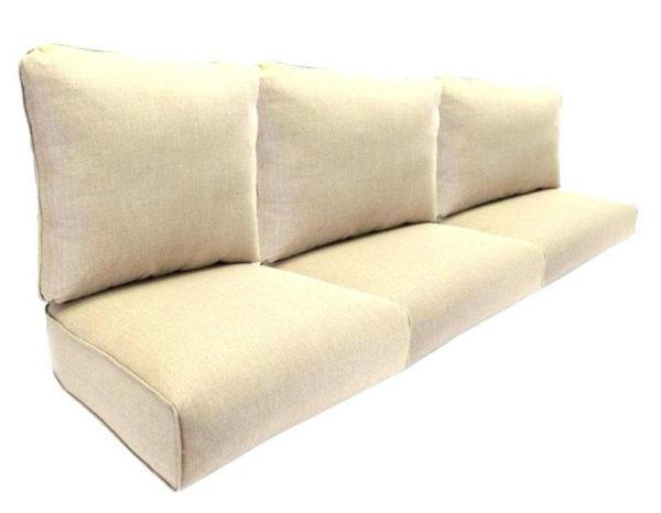 Фото-Комплект подушек на садовый диван 3-х местный