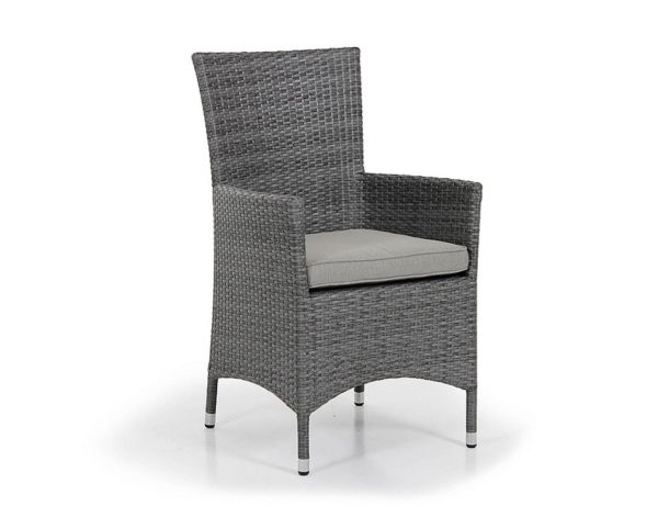 Фото-Кресло из искусственного ротанга обеденное Реставрация
