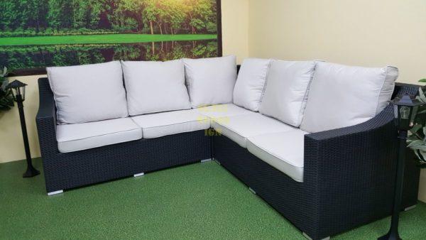 Фото-Плетеный диван угловой Pegas 252