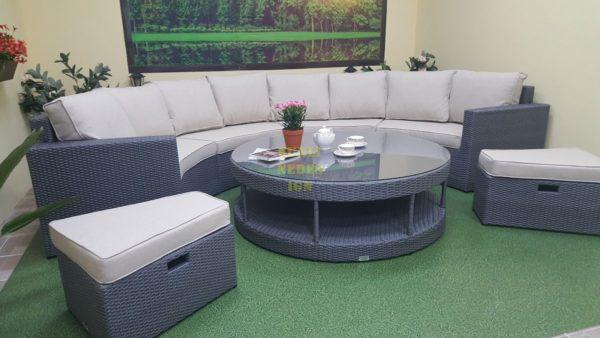 "Фото-Плетеная мебель ""Meridiana"" lounge"