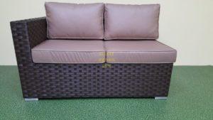 Фото-Jazz диван из искусственного ротанга модуль левый
