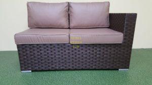 Фото-Jazz диван из искусственного ротанга модуль правый