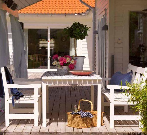 Grundsund Садовая мебель из сосны Brafab