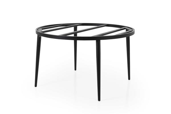 Фото-Callander D130 black Стол садовый круглый подстолье