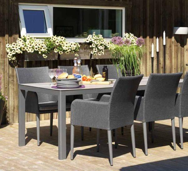 Callander dining Садовая мебель алюминиевая Brafab