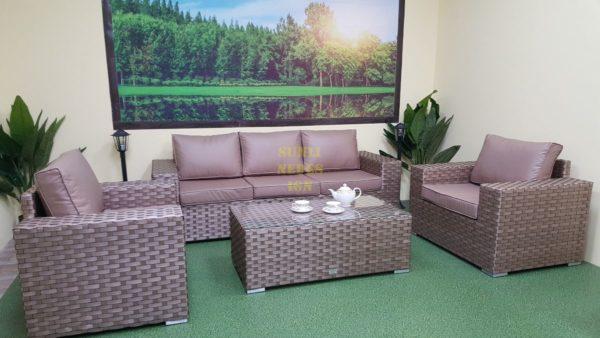 Cinzano beige Плетеная мебель из искусственного ротанга для отдыха