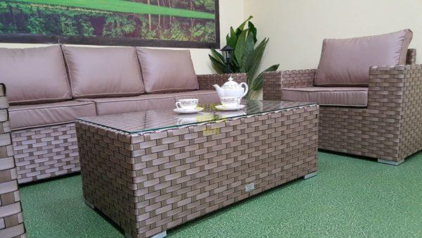 Фото-Ротанг мебель на террасу Cinzano beige