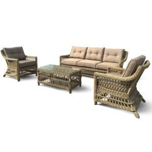 """Фото-Мебель из искусственного ротанга """"Beatrix"""" lounge"""