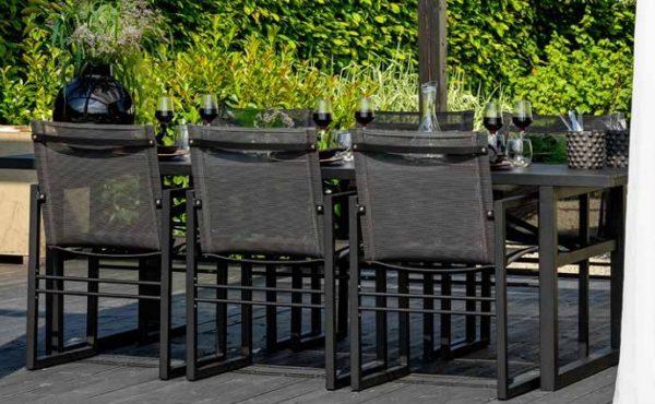 Картинка Садовая мебель алюминиевая Vevi Brafab