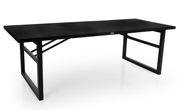 Фото-Стол садовый алюминиевый Vevi black 230