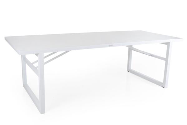 Картинка - Стол садовый алюминиевый Vevi white 230