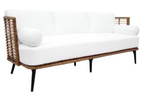 Фото-covelo диван из искусственного ротанга