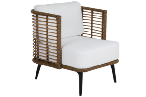 Фото-covelo кресло из искусственного ротанга