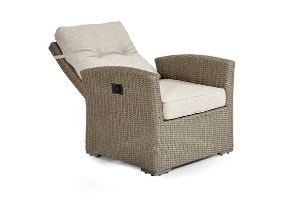 Ashfield beige позиционное кресло из ротанга 3752-20-02