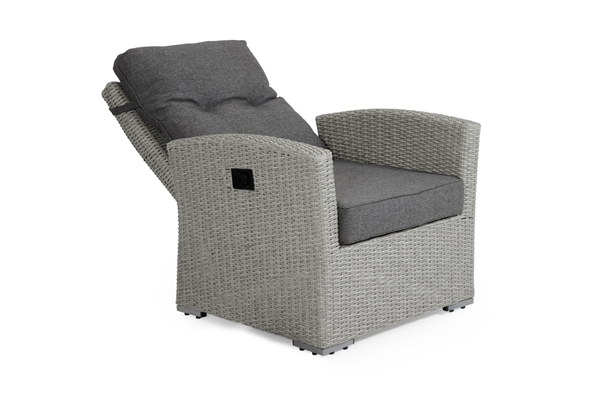Ashfield grey 3752-71-78 позиционное кресло из ротанга