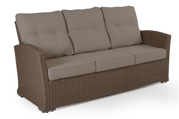 Фото-Ashifield beige диван из искусственного ротанга