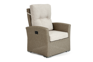 Фото-Ashifield beige кресло из искусственного ротанга регулируемое
