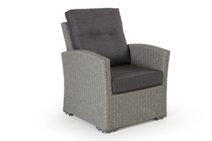 Ashifield grey кресло плетеное Brafab