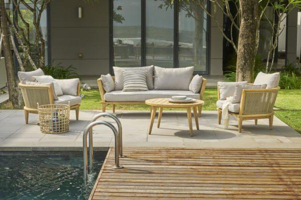 Girona Lounge Set Садовая мебель из акации Azzura