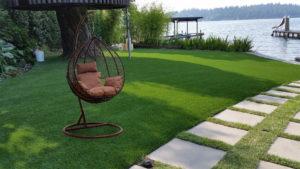 Подвесное кресло плетеное MOTI BROWN