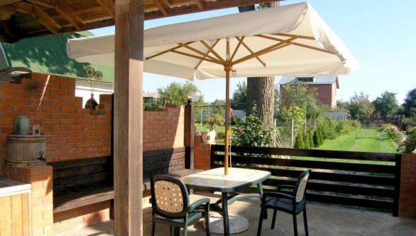 Зонт уличный Palladio Standard 3х4