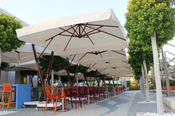 Зонт уличный профессиональный Banana 4х4 метра