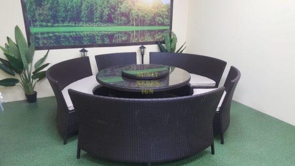 China Мебель из ротанга обеденная