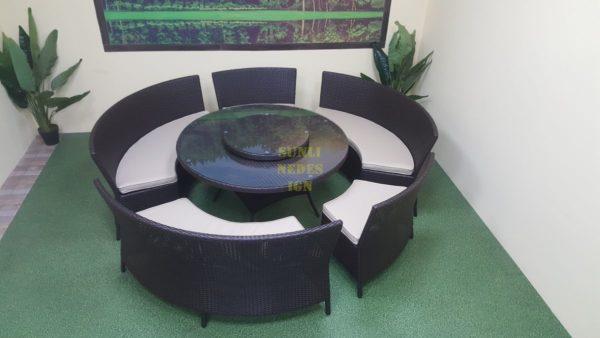 China dining set плетеная мебель круглые диваны