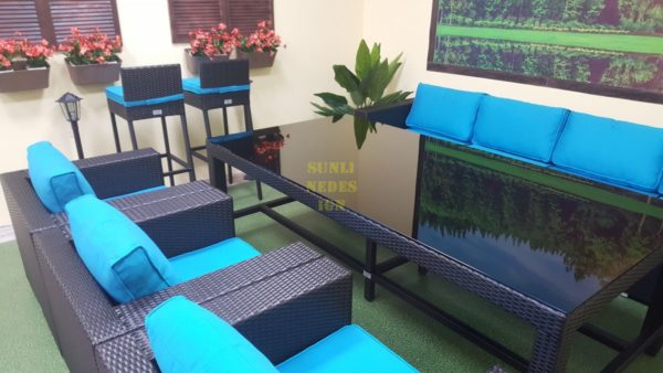 Фото-Mega black Sunlinedesign мебель из ротанга фабрика