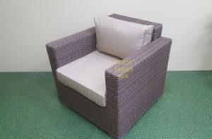 Adagio beige Кресло для отдыха ротанг искусственный